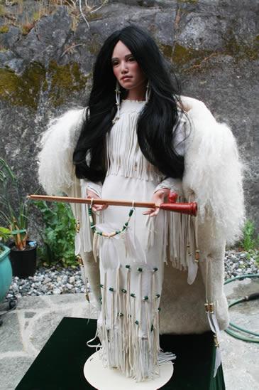 Modern Ladies White Buffalo Woman